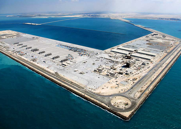 KHALIFA PORT & INDUSTRIAL ZONE PROJECT (KPIZ) CONTRACT 1000-209                                                                                                                                                           OFFSHORE CIVIL & BUILDINGS